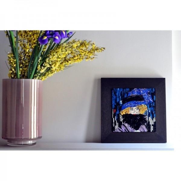 Gustav Klimt - Signora con cappello e boa di piume