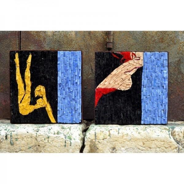 "Ladislav Sutnar - ""Venus 1"": inspired by the silk-screen prints ""Strip Street Series"""