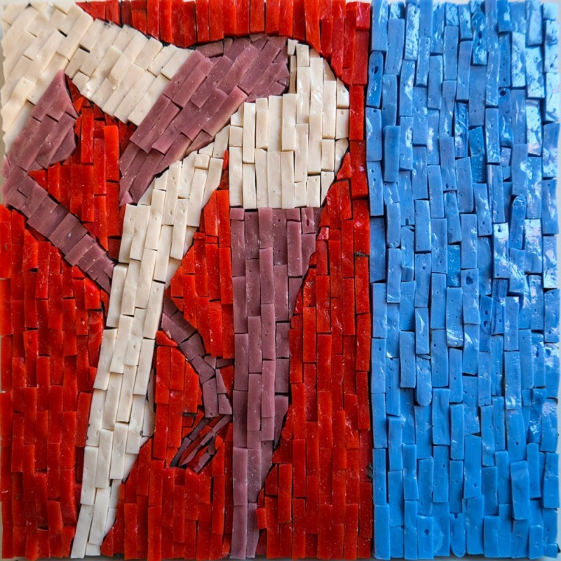 "Ladislav Sutnar - ""Venus 2"": inspired by the silk-screen prints ""Strip Street Series"""