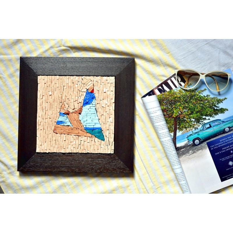 "Omaggio a Tom Wesselmann. ""Seascape Dropout"" - 1982"