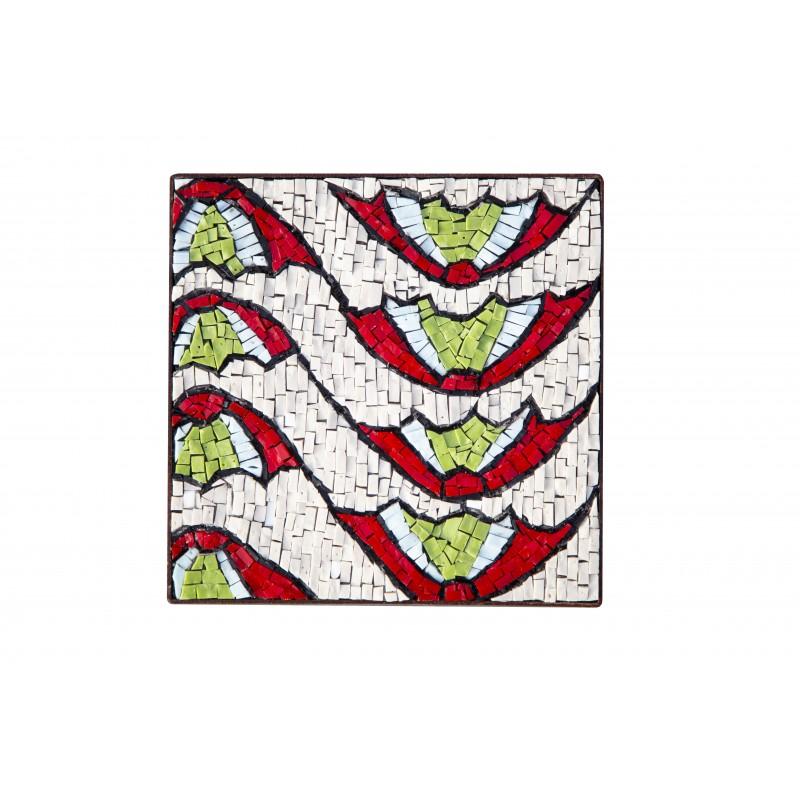 Ravenna - Motivo del pavimento della Basilica di San Vitale