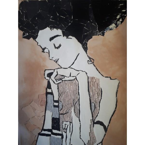 (Self)Portrait of woman